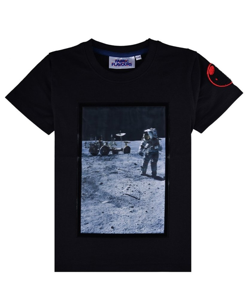 Bambinista-FABRIC FLAVOURS-Tops-NASA Apollo 16 Tee