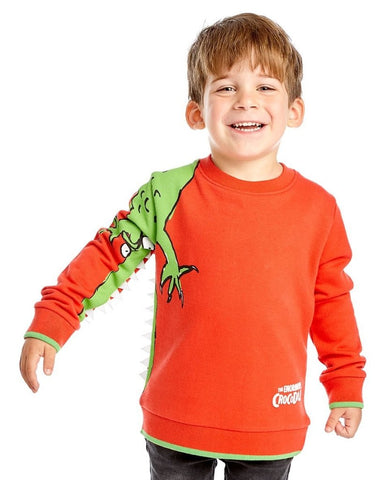 Bambinista-FABRIC FLAVOURS-Tops-Roald Dahl The Enormous Crocodile Sweatshirt (ST)