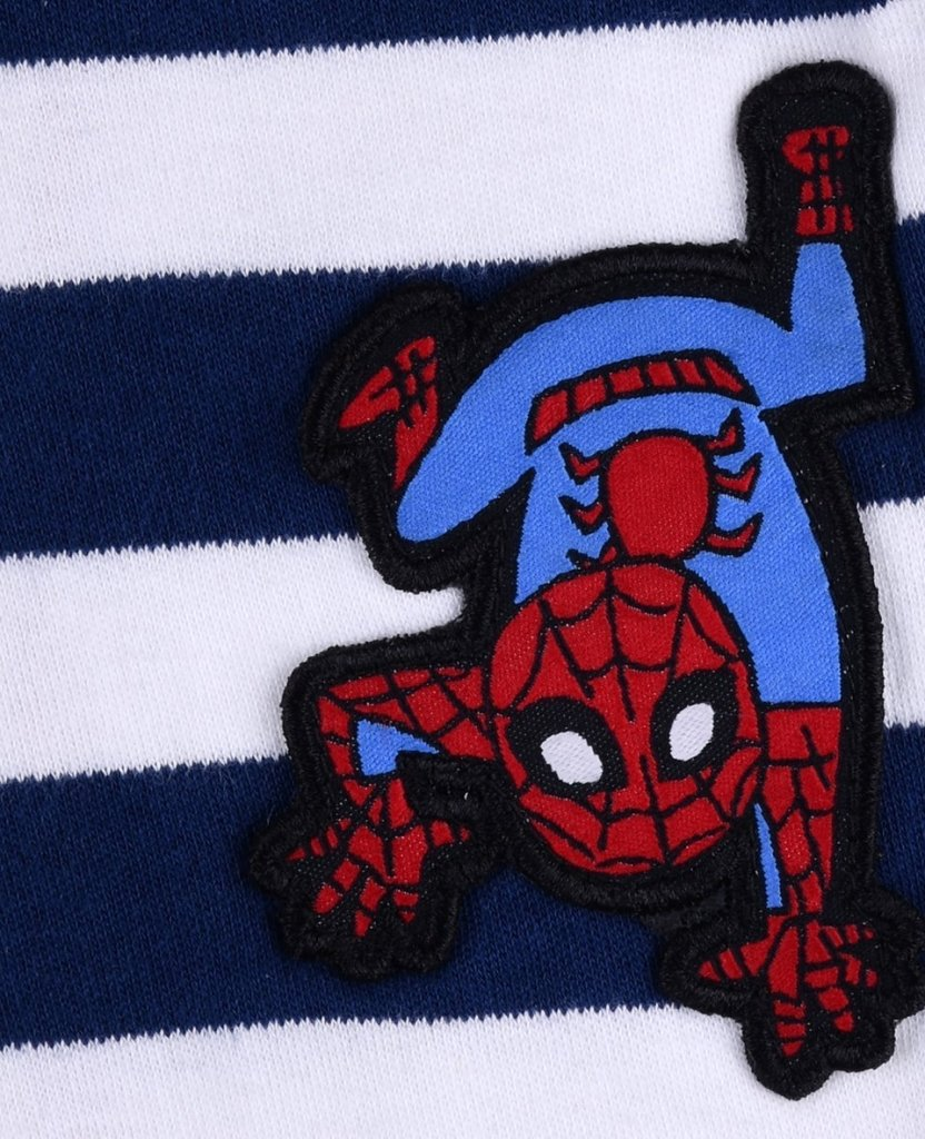 Bambinista-FABRIC FLAVOURS-Onesies-Spider-Man Babygrow