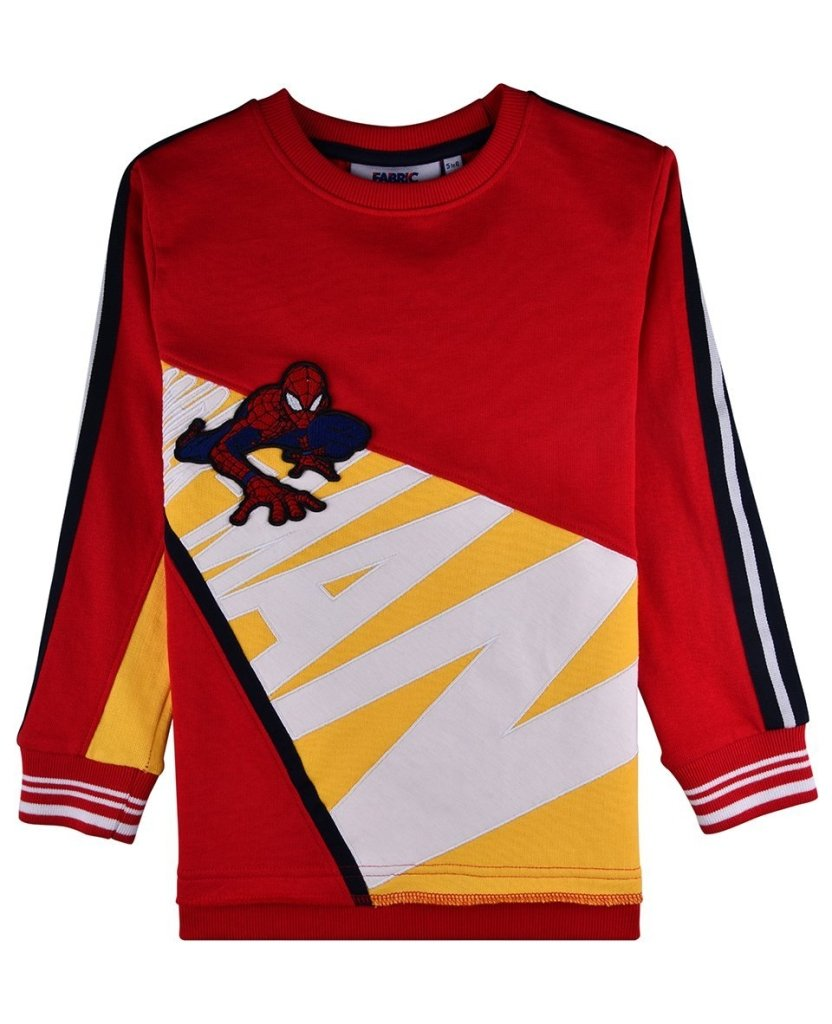 Bambinista-FABRIC FLAVOURS-Tops-Spider-Man Crawl Sweatshirt