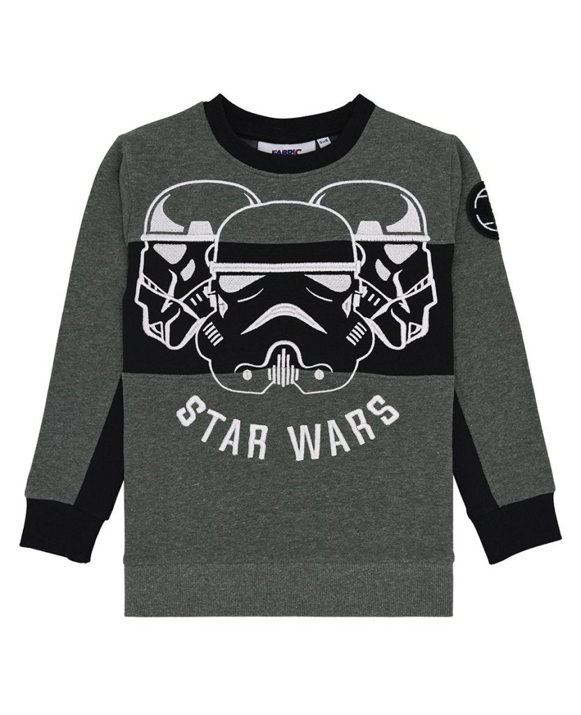 Bambinista-FABRIC FLAVOURS-Tops-Star Wars Trio Stormtrooper Sweatshirt
