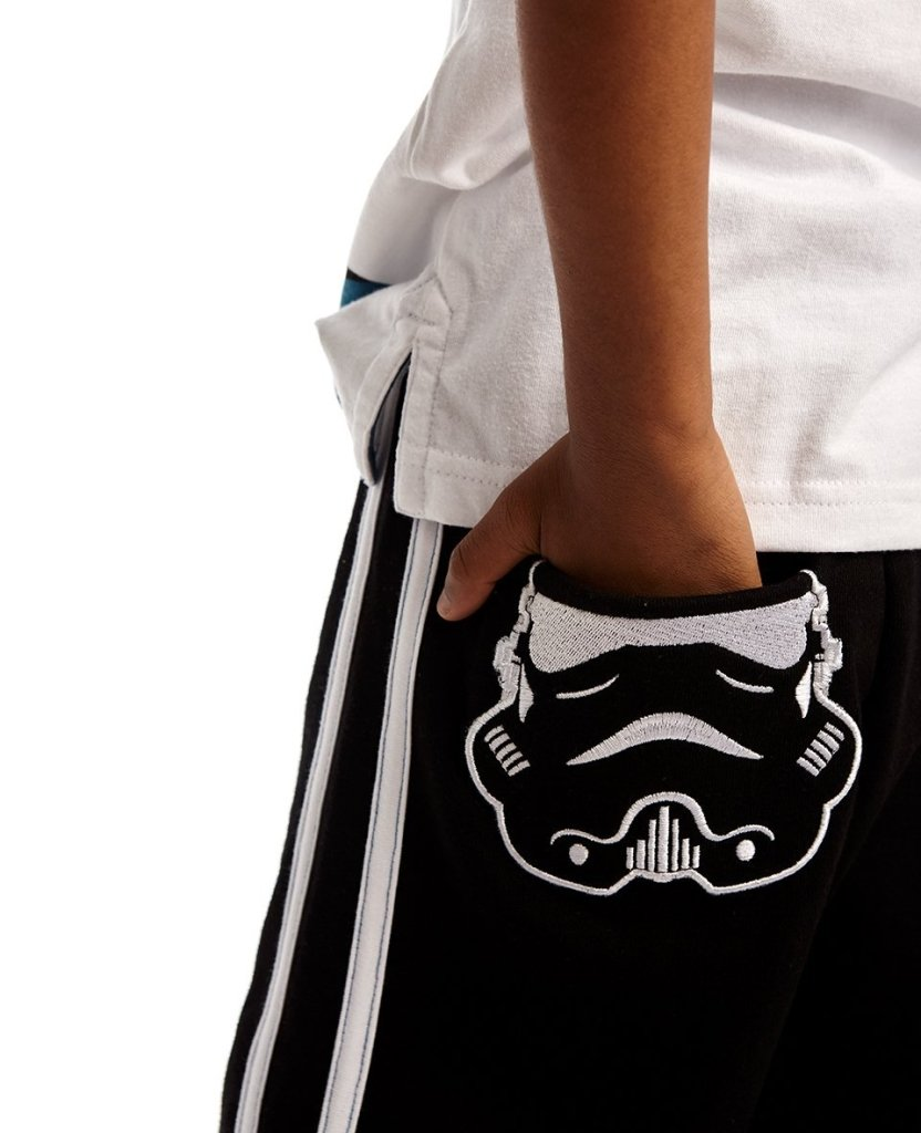 Bambinista-FABRIC FLAVOURS-Bottoms-Stormtrooper Pocket Joggers