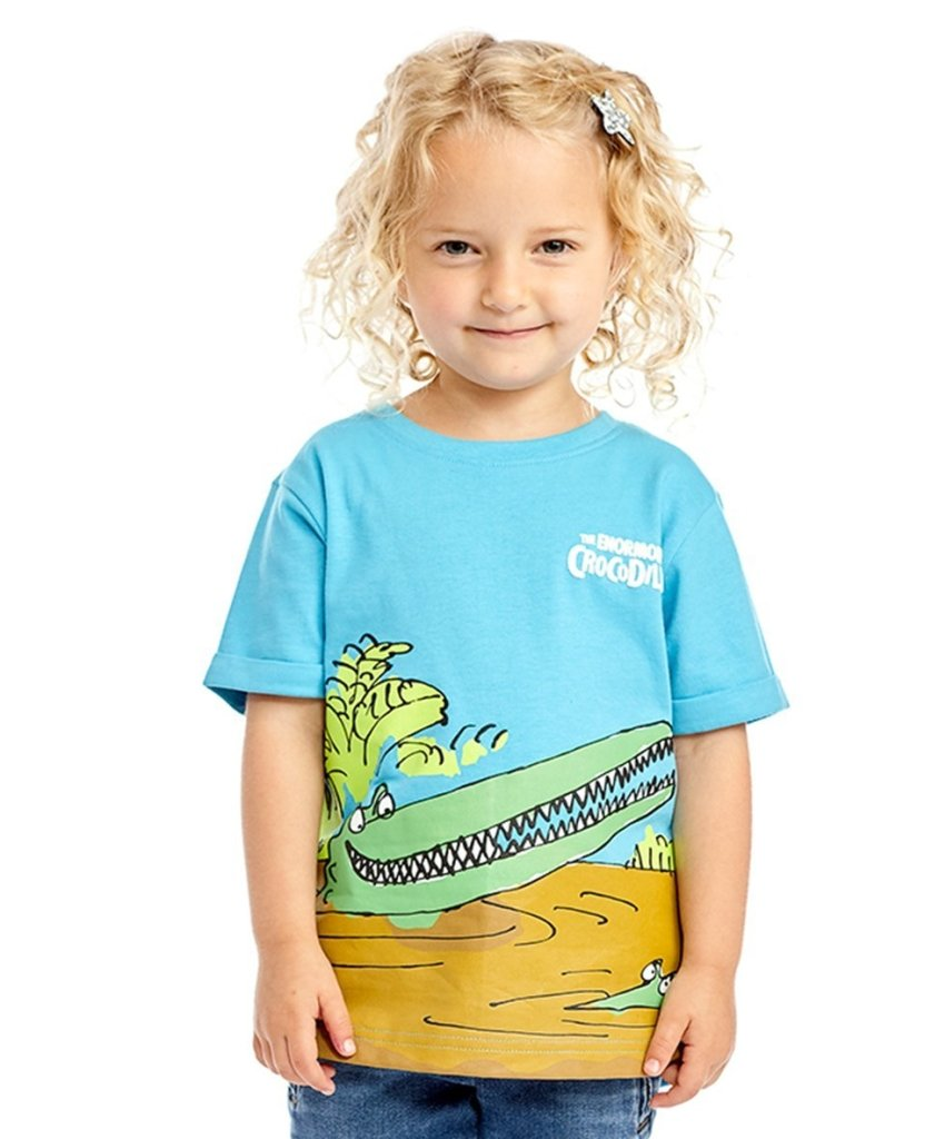 Bambinista-FABRIC FLAVOURS-Tops-The Enormous Crocodile Tee
