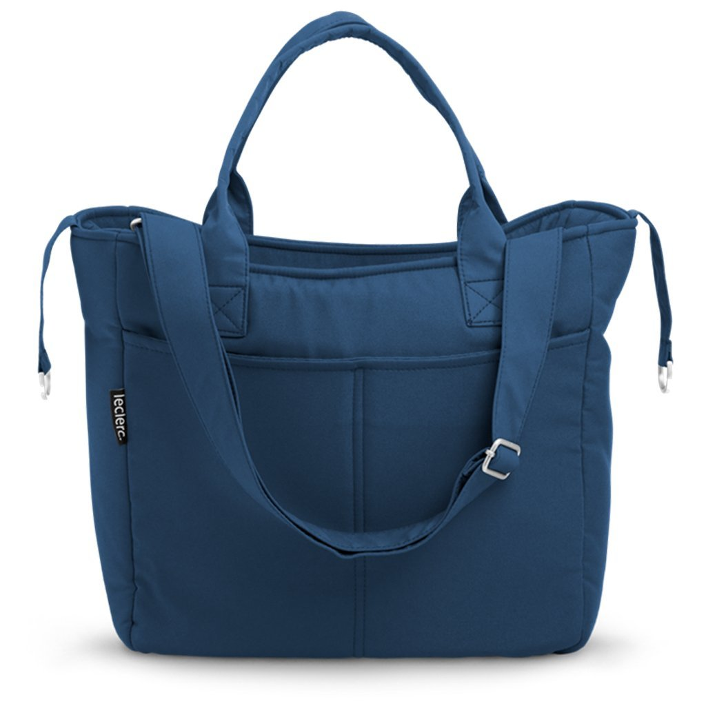 Bambinista-LECLERC-Travel-Leclerc Diaperbag Fabric - Blue
