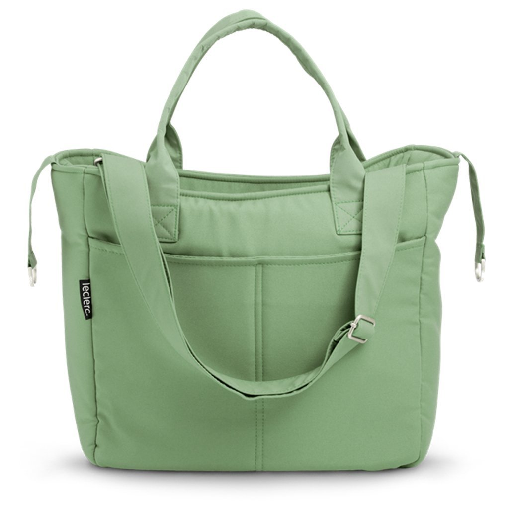 Bambinista-LECLERC-Travel-Leclerc Diaperbag Fabric - Green
