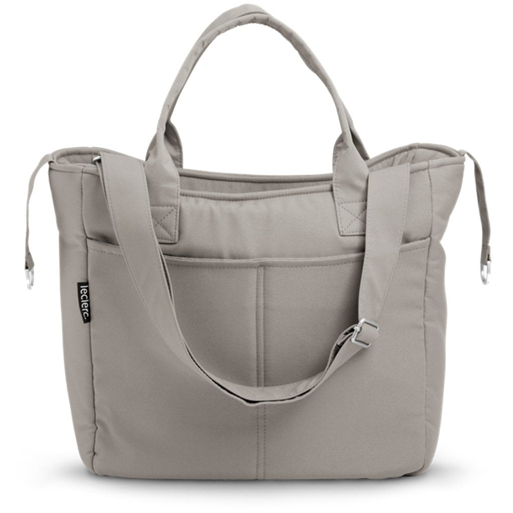 Bambinista-LECLERC-Travel-Leclerc Diaperbag Fabric - Grey