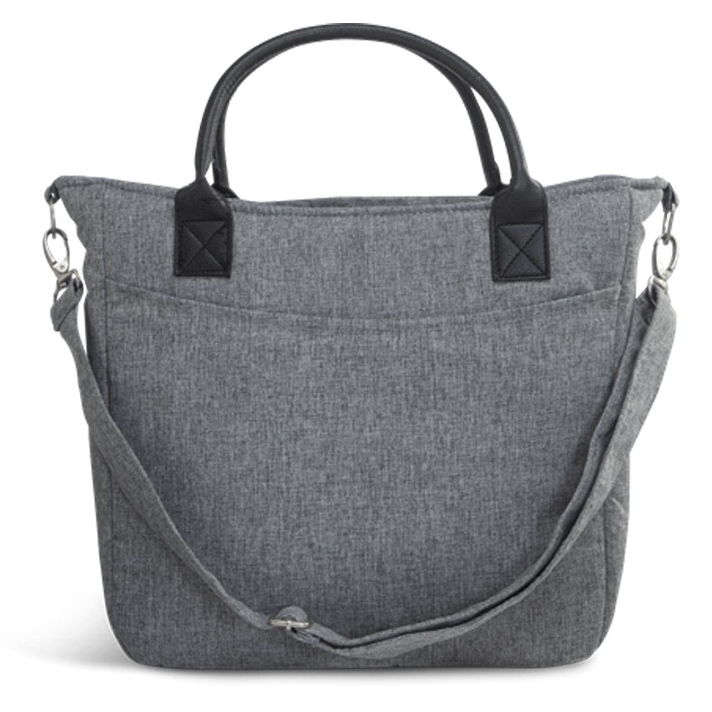 Bambinista-LECLERC-Travel-Leclerc Diaperbag Fabric - Grey Melange