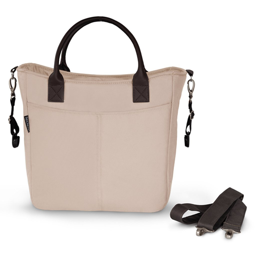 Bambinista-LECLERC-Travel-Leclerc Diaperbag Fabric - Sand Chocolate