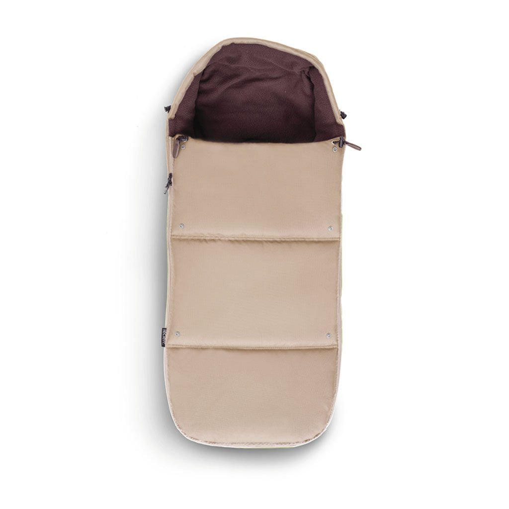 Bambinista-LECLERC-Travel-Leclerc Footmuff Polar - Sand Chocolate