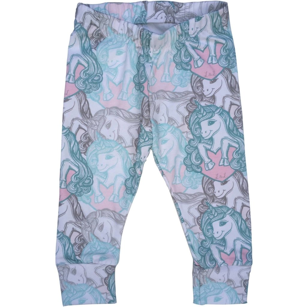 Bambinista-LOTTIE & LYSH-Bottoms-Leggings Candy Unicorns Print