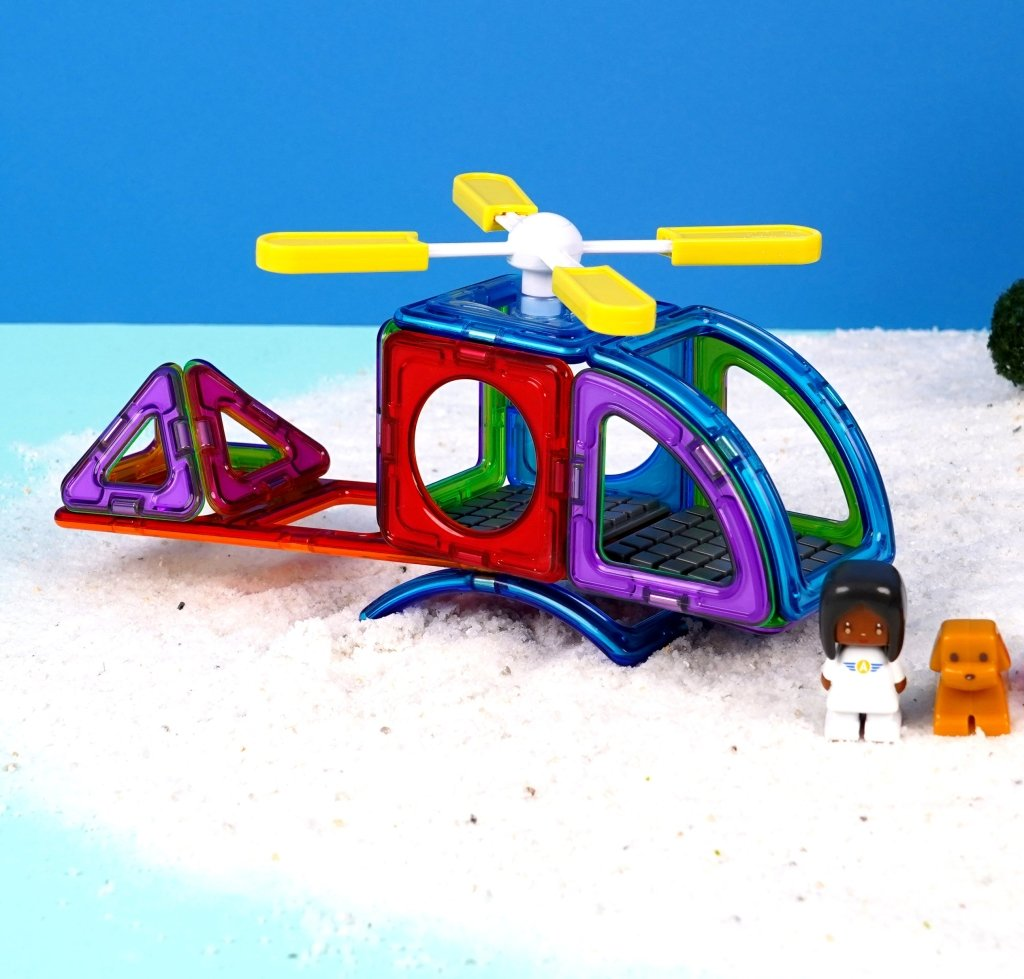 Bambinista-MAGFORMERS-Toys-Magformers Aviation Adventure set 28pc
