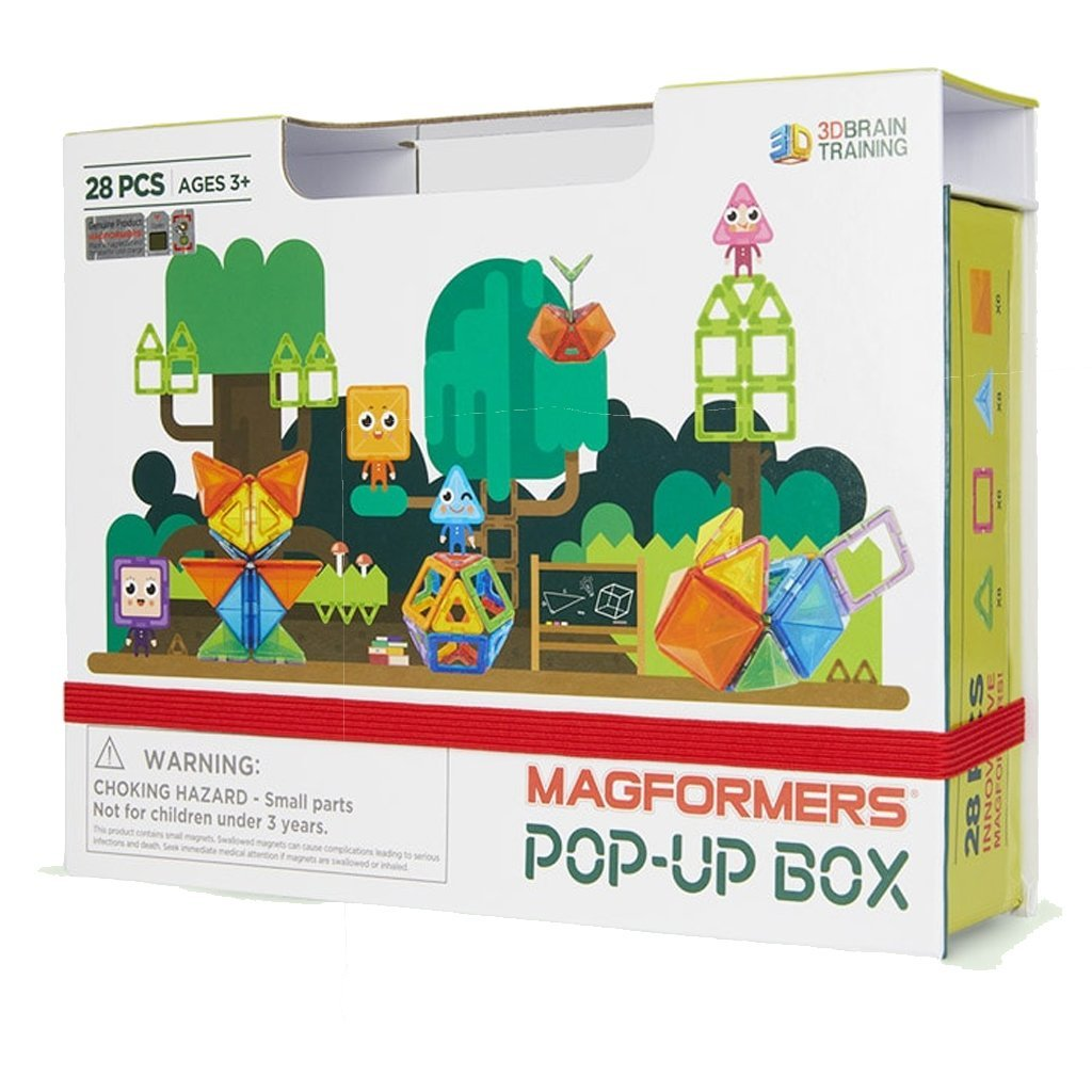 Bambinista-MAGFORMERS-Toys-Magformers Pop Up Box 28pcs