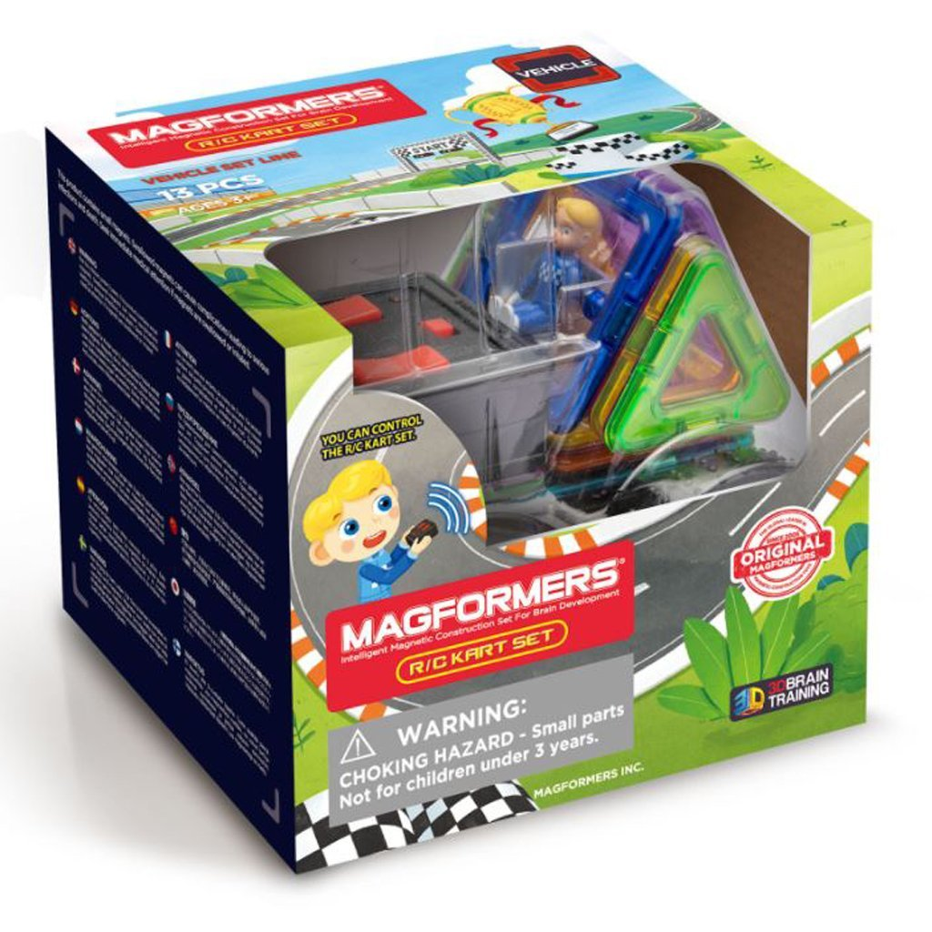 Bambinista-MAGFORMERS-Toys-Magformers Rally Kart Remote Controll set 13