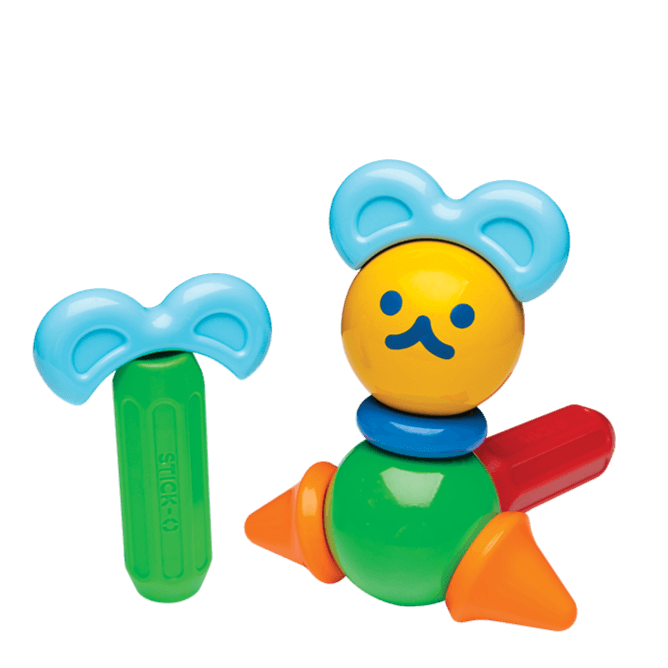 Bambinista-MAGFORMERS-Toys-Magformers Stick-O Forest Friends Set 16-Piece