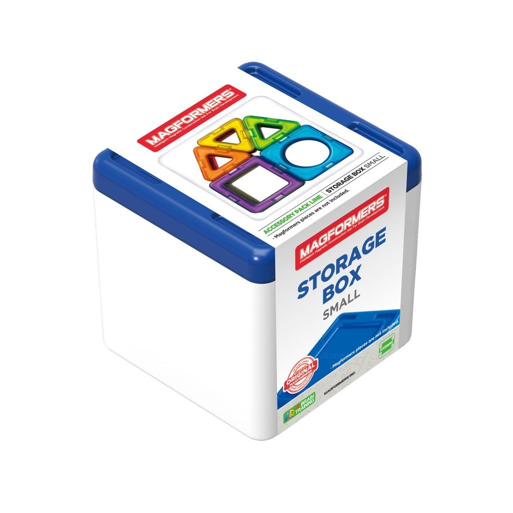 Bambinista-MAGFORMERS-Toys-Magformers Storage Box Blue Small