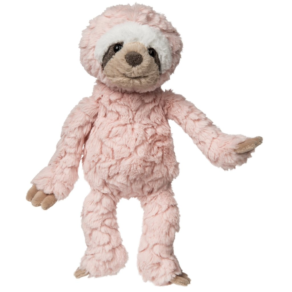 Bambinista-MARY MEYER-Toys-Blush Putty Baby Sloth - Small