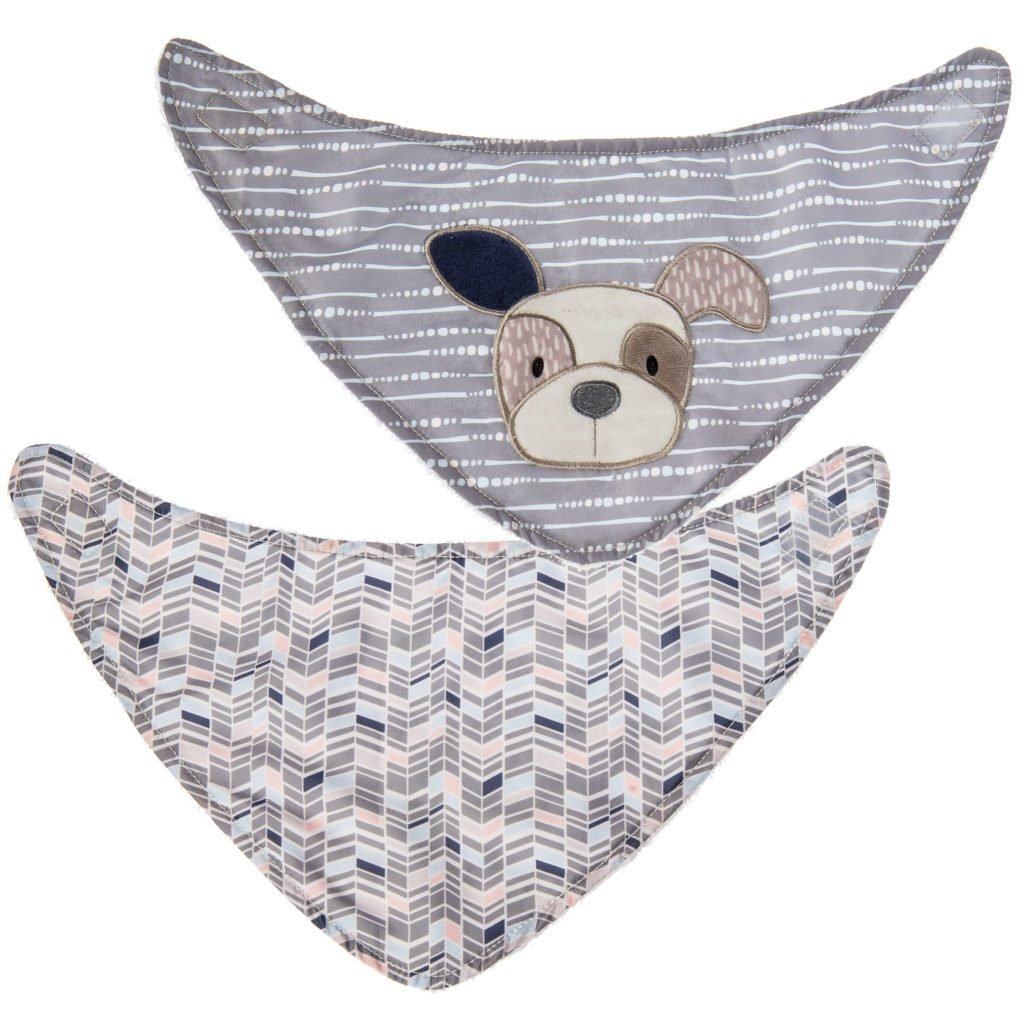Bambinista-MARY MEYER-Accessories-Decco Pup Bibs - 2 Piece