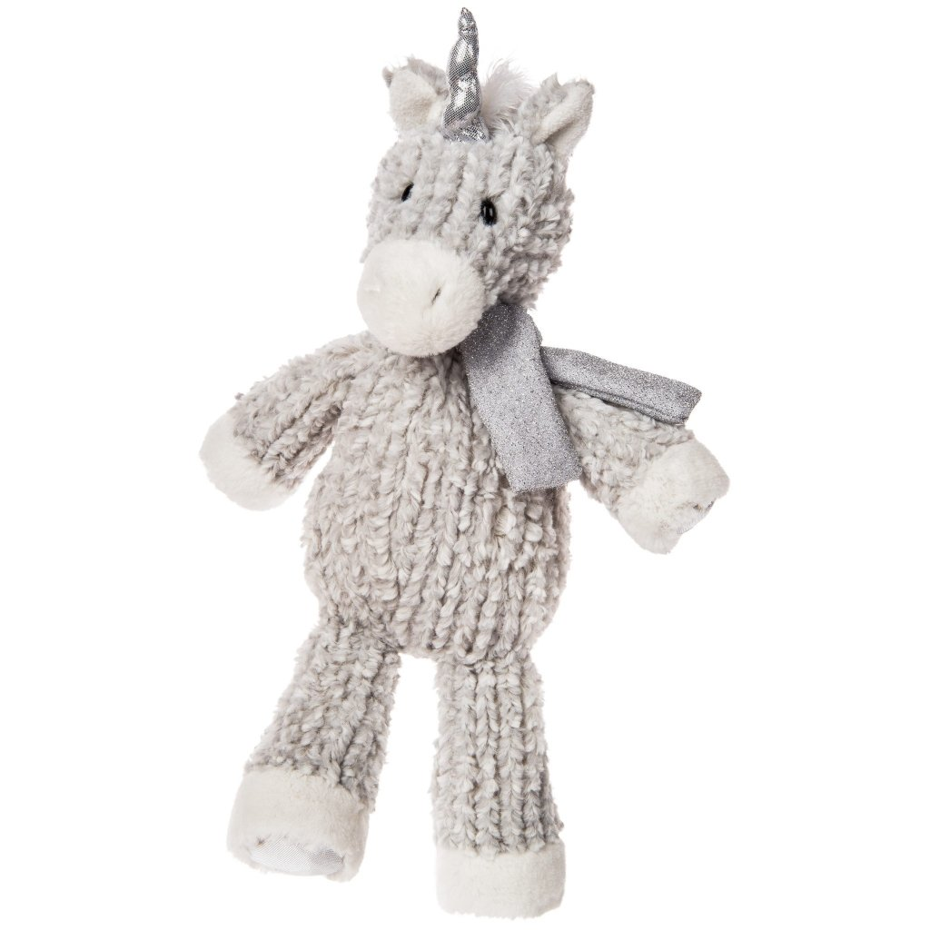 Bambinista-MARY MEYER-Toys-FabFuzz Tinsel Toes Unicorn – 14″