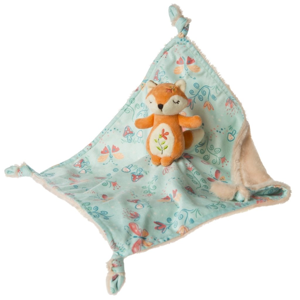 Bambinista-MARY MEYER-Toys-Fairyland Fox Character Blanket – 13×13″
