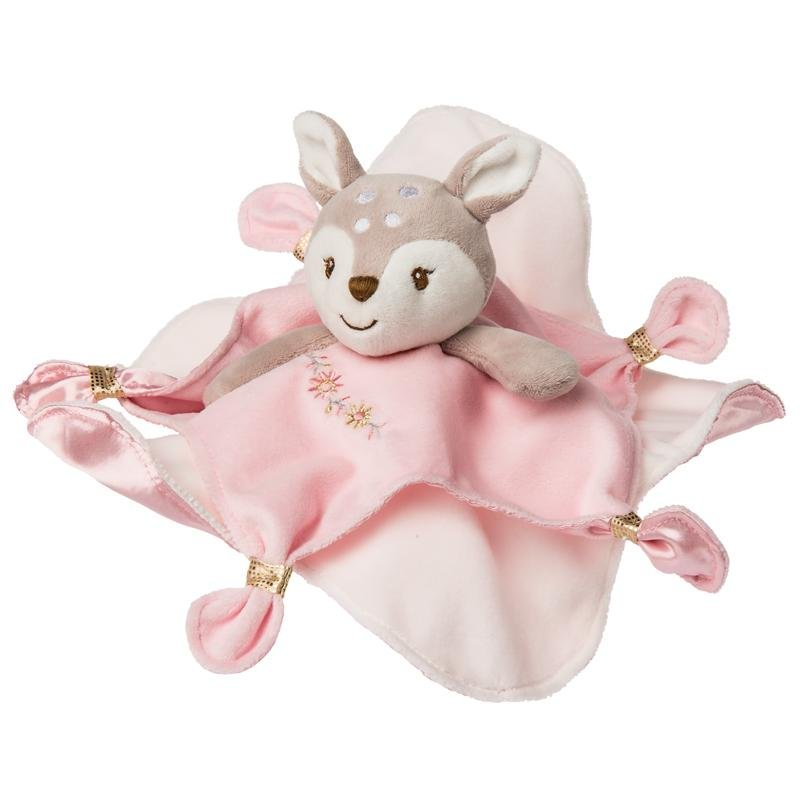Bambinista-MARY MEYER-Toys-Itsy Glitzy Fawn Character Blanket
