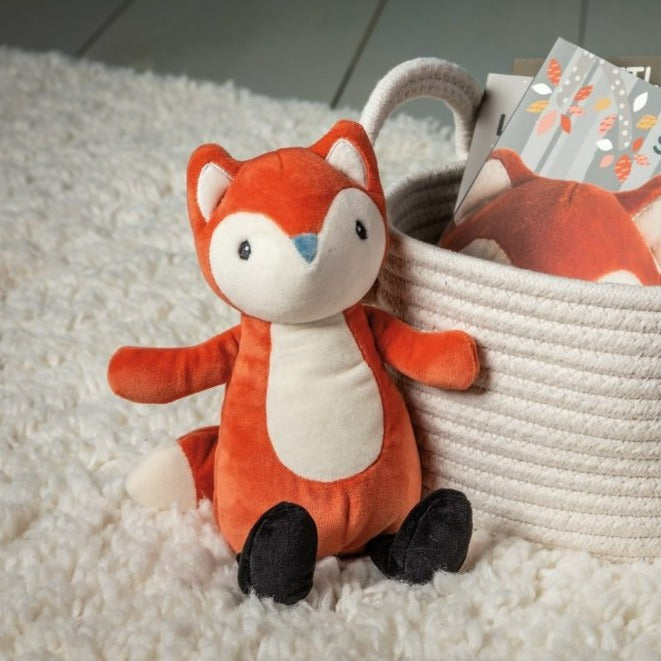 Bambinista-MARY MEYER-Toys-Leika Little Fox Soft Toy – 8″