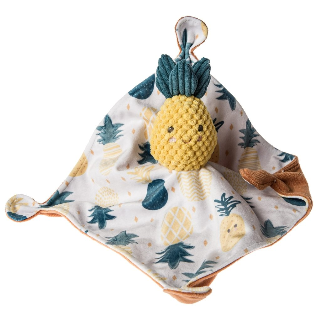 "Bambinista-MARY MEYER-Toys-Sweet Pineapple Soothie Blanket - 10"" x 10"""