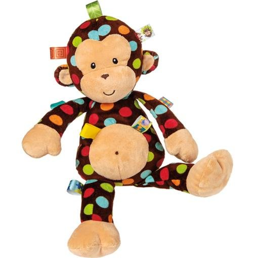 Bambinista-MARY MEYER-Toys-Taggies Big Dazzle Dots Monkey