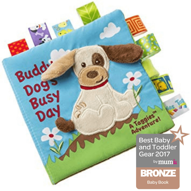 Bambinista-MARY MEYER-Toys-Taggies Buddy Dog Soft Book
