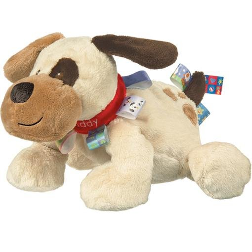Bambinista-MARY MEYER-Toys-Taggies Buddy Dog Soft Toy - 12""
