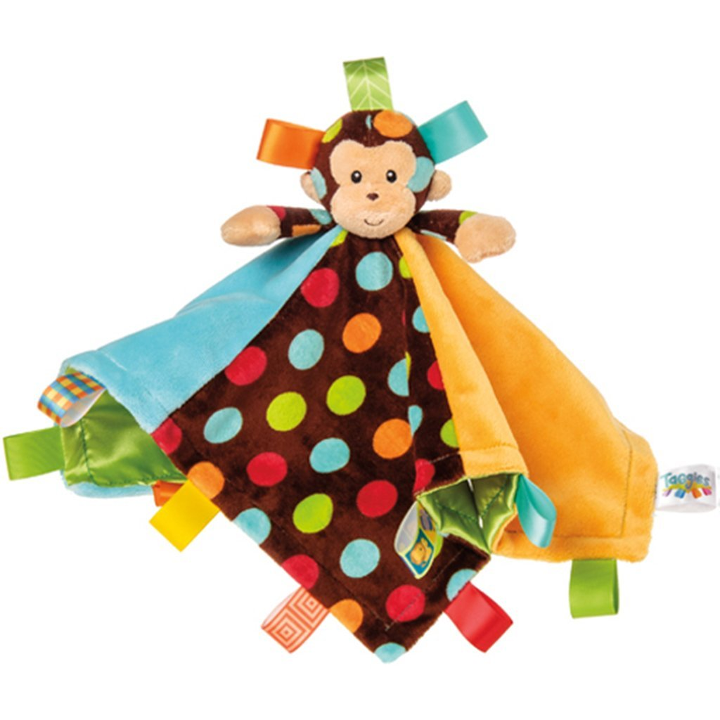 Bambinista-MARY MEYER-Blankets-Taggies Dazzle Dots Monkey Character Blanket
