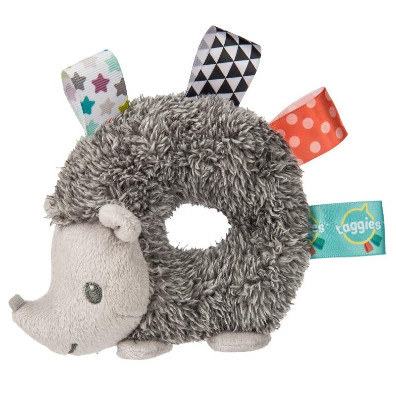Bambinista-MARY MEYER-Toys-Taggies Heather Hedgehog Rattle