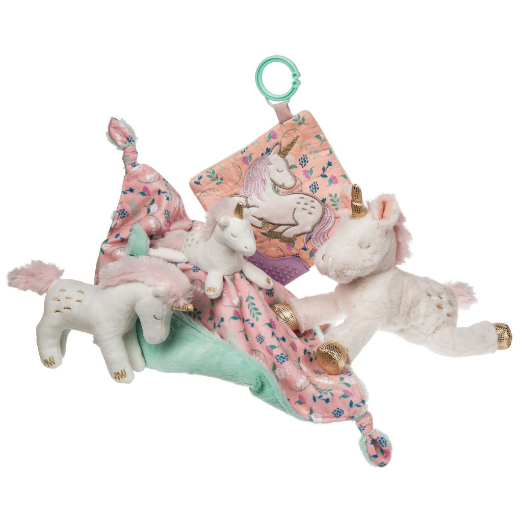 Bambinista-MARY MEYER-Toys-Twilight Baby Unicorn Crinkle Teether