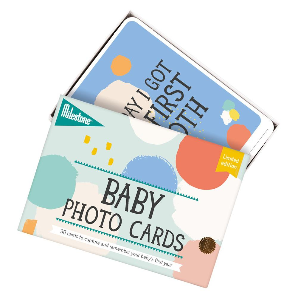 Bambinista-MILESTONE-Gifts-Baby Photo Cards Limited Edition