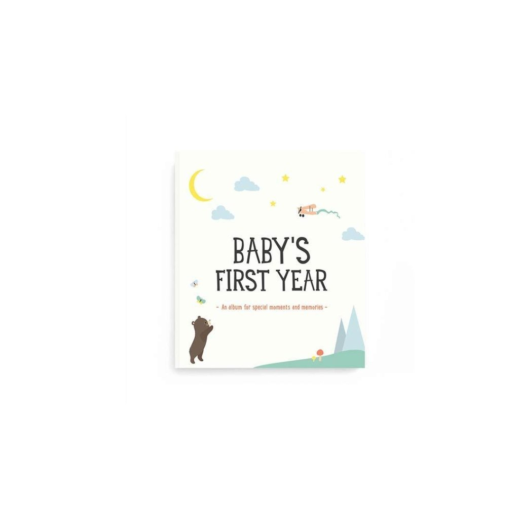 Bambinista-MILESTONE-Gifts-Baby's First Year Album