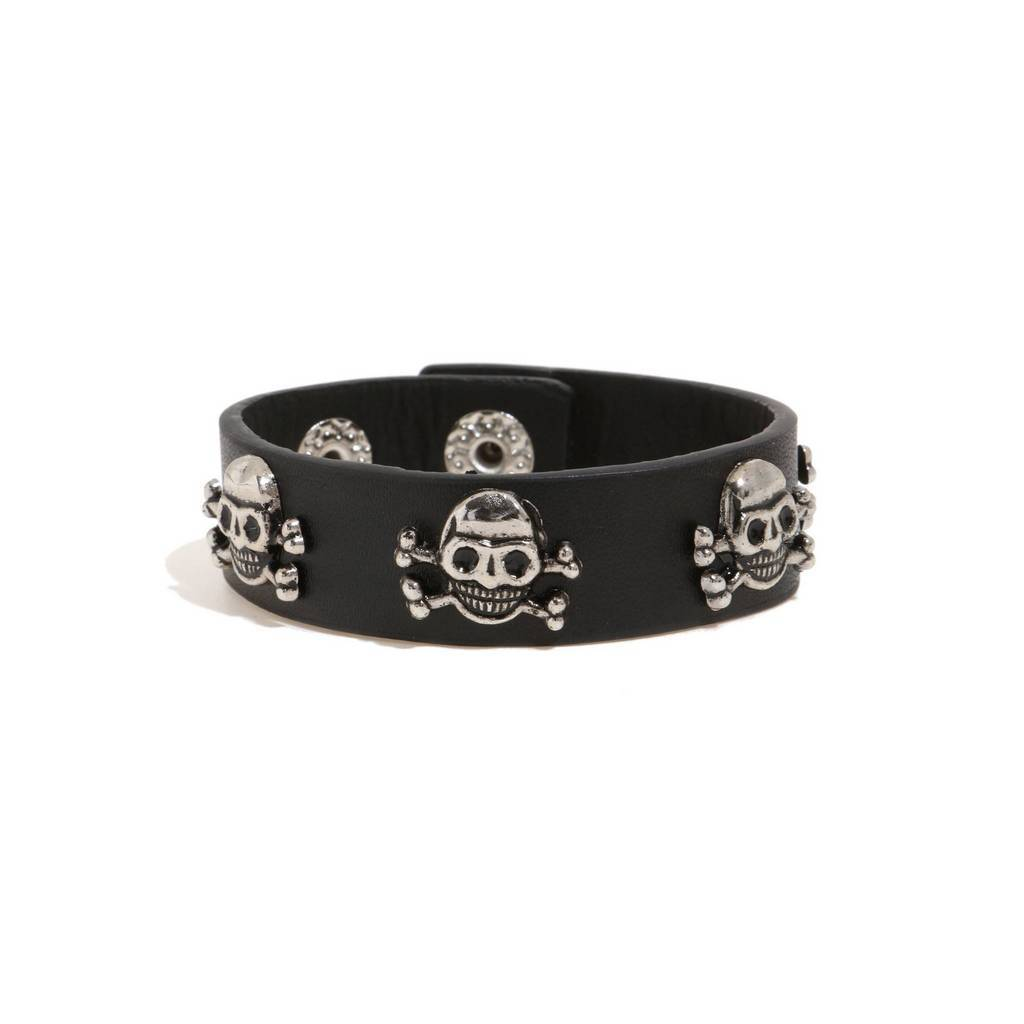 Bambinista-MINIMAN-Accessories-Toddler / Kids Leather Bangle Mini Pirate