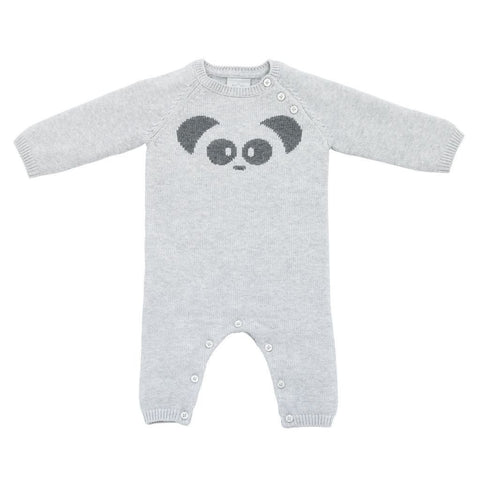 Bambinista-MORI-Rompers-Knitted Panda Romper