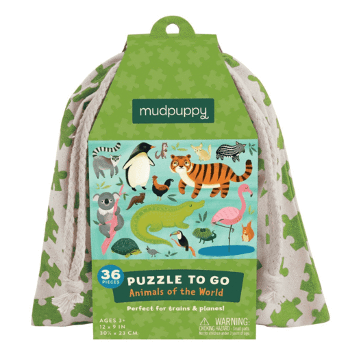 Bambinista-MUDPUPPY-Toys-Puzzle To Go - Animals Of The World