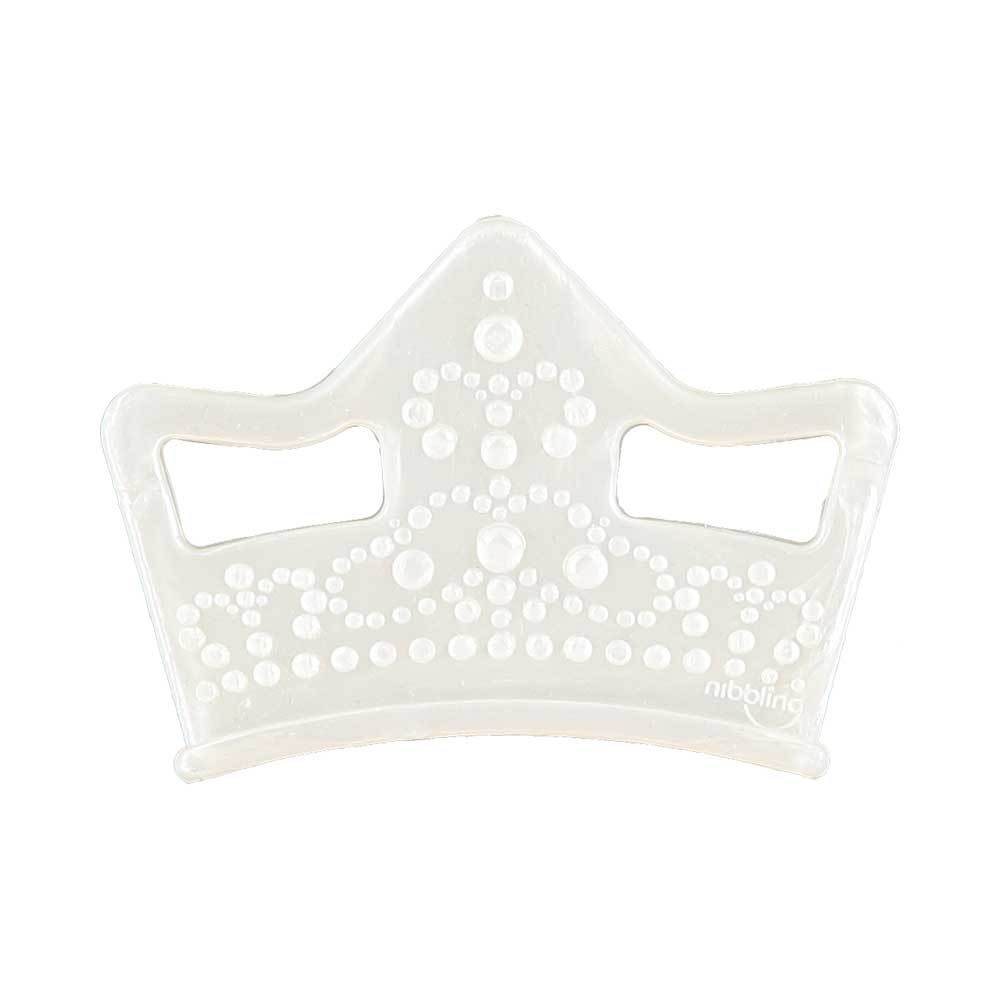 Bambinista-NIBBLING LONDON-Accessories-Teething Toy Tiara Pearl
