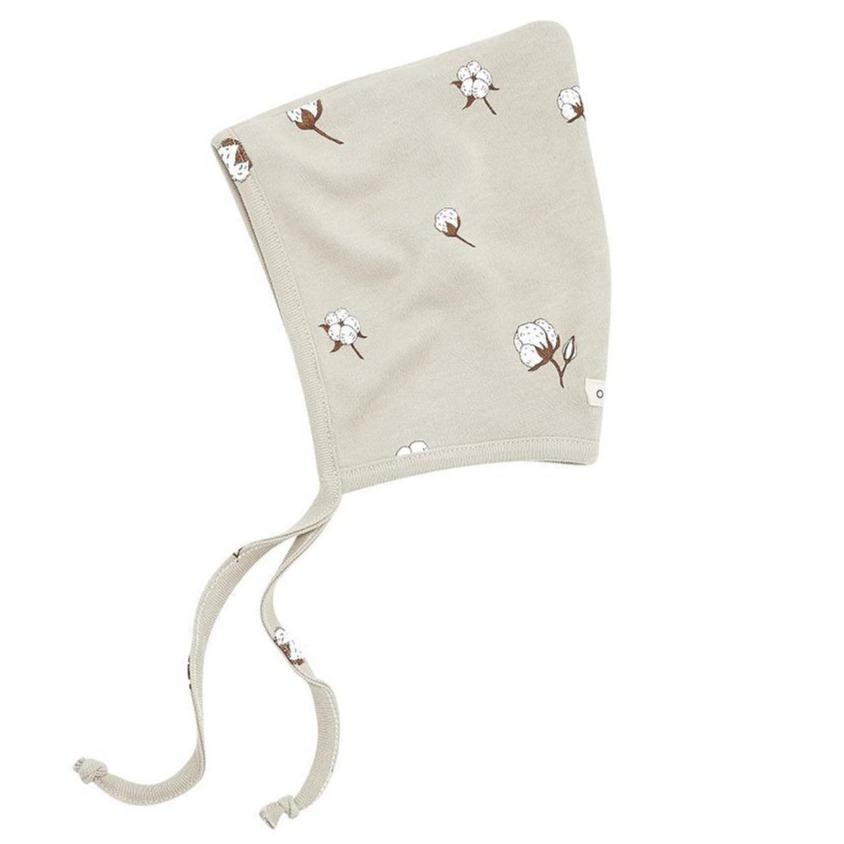 Bambinista-ORGANIC ZOO-Accessories-Bonnet Cotton Field