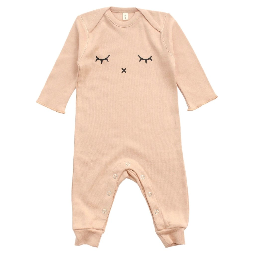 Bambinista-ORGANIC ZOO-Rompers-Playsuit Sleepy Clay