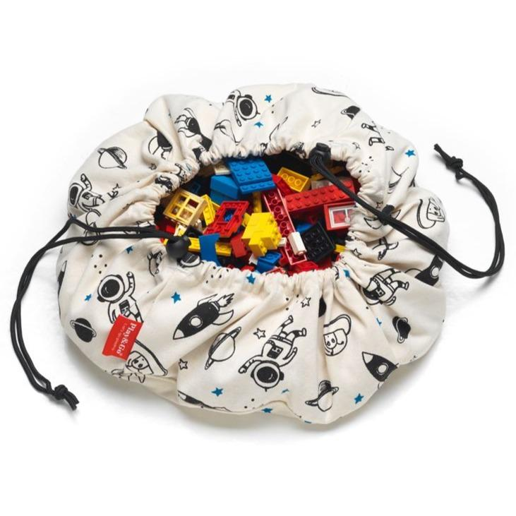Bambinista-PLAY & GO-Toys-Play Mat / Storage Bag Mini - Space