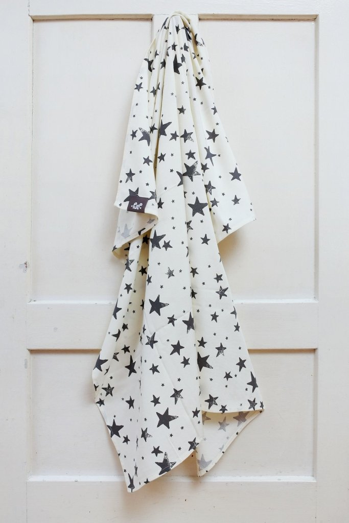 Bambinista-PULP-Blankets-Antibacterial Swaddle Blanket Stars