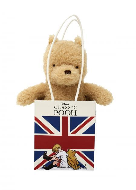 Bambinista-RAINBOW DESIGNS-Toys-Classic Winnie The Pooh in Union Jack Bag