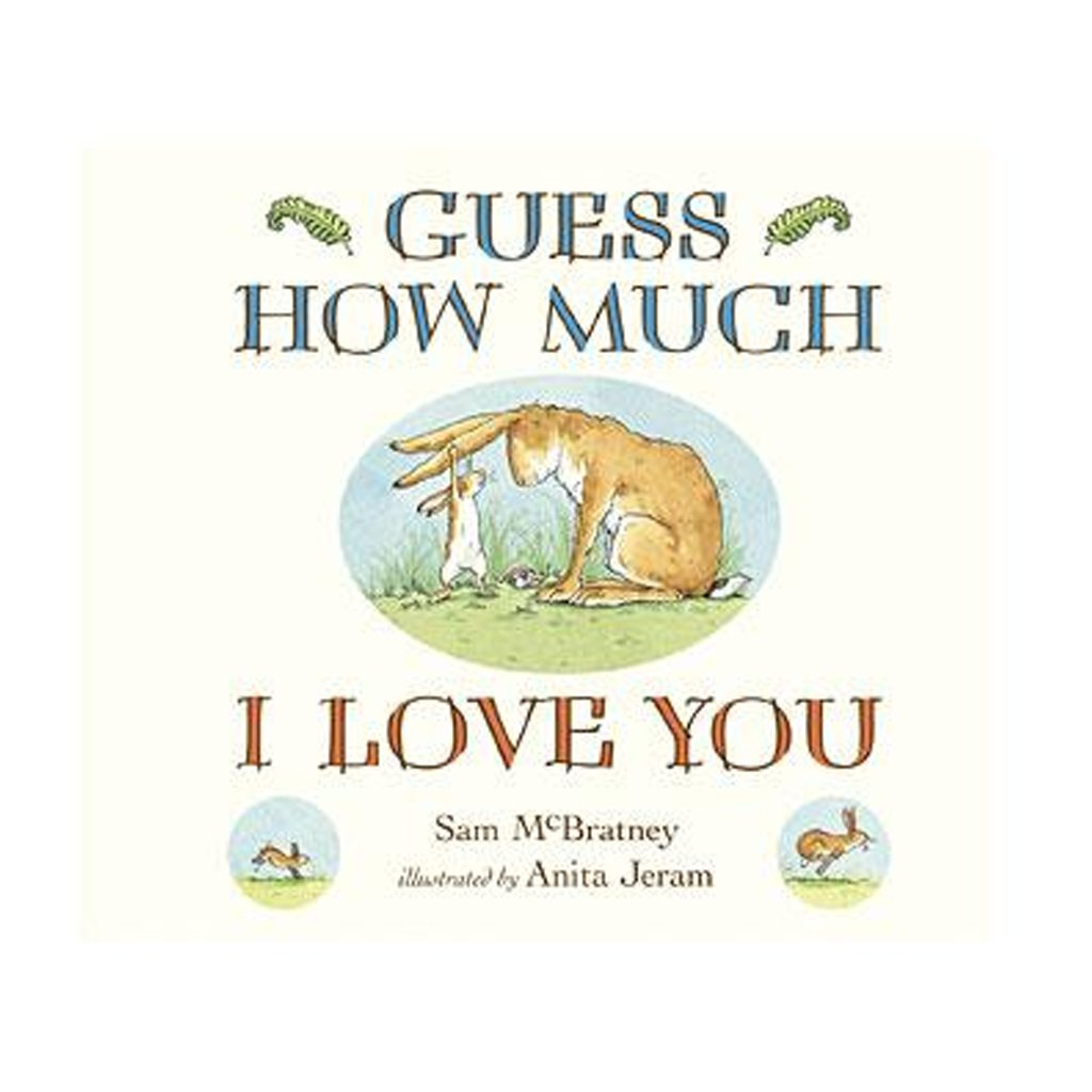 Bambinista-RAINBOW DESIGNS-Books-Guess How Much I Love You Original Story Board Book