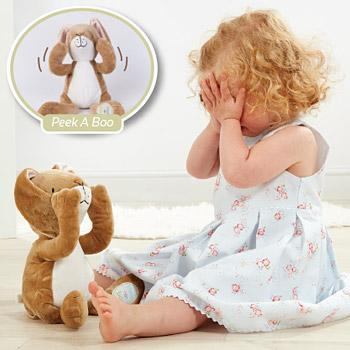 Bambinista-RAINBOW DESIGNS-Toys-Guess How Much I Love You Peekaboo Big Nutbrown Hare