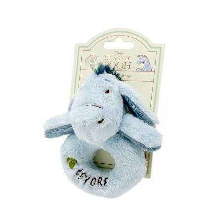 Bambinista-RAINBOW DESIGNS-Toys-Hundred Acre Wood Eeyore Ring Rattle