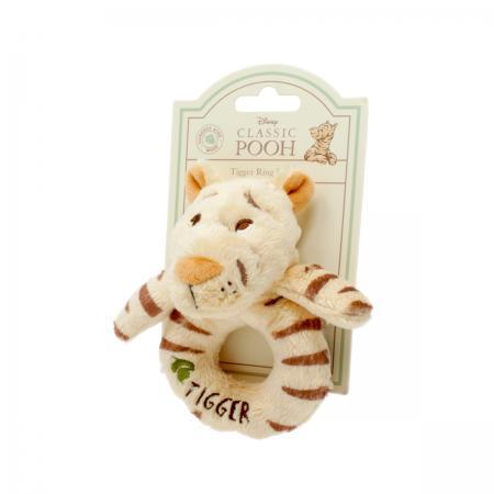 Bambinista-RAINBOW DESIGNS-Toys-Hundred Acre Wood Tigger Ring Rattle