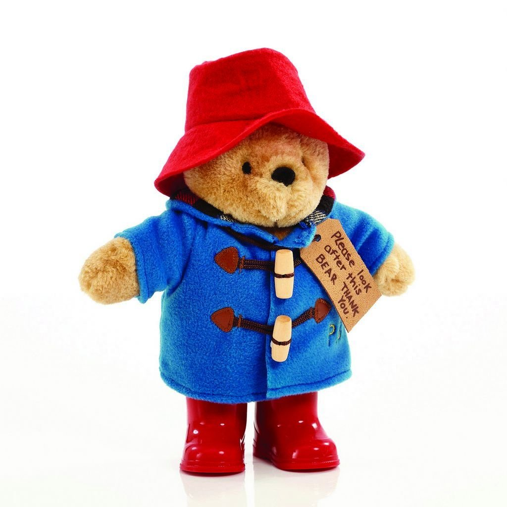 Bambinista-RAINBOW DESIGNS-Toys-PADDINGTON Bear with Boots Classic 25cm