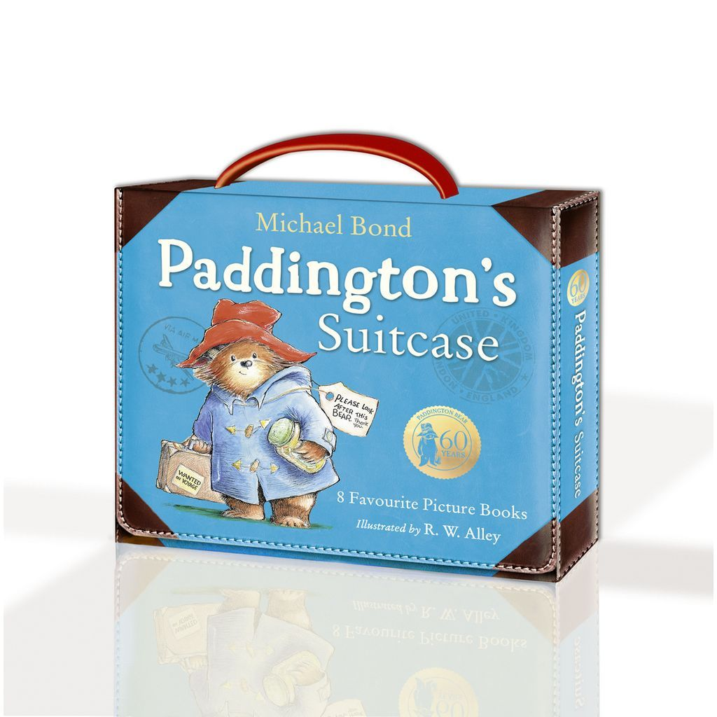 Bambinista-RAINBOW DESIGNS-Toys-PADDINGTON Big Suitcase Books