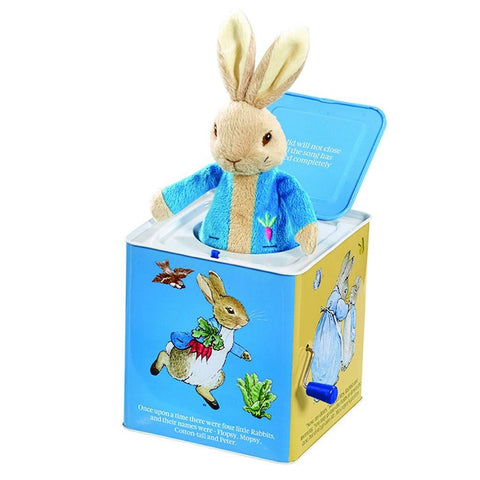 Bambinista-RAINBOW DESIGNS-Toys-PETER RABBIT Jack in the Box